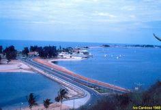 Ponte da Ilha de Luanda em 1969
