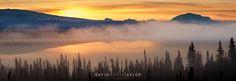 Sunrise at Willow Lake — David Ryan Taylor - Fine Art Photography