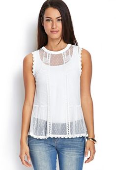 89462ab93e9 Lace Tops For Women 12 Sheer Lace Top