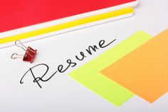 Resume Writing Tips for Job Changers