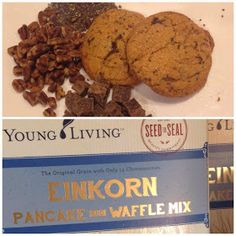 EINKORN ancient grain pancake mix from Young Living! cookie recipe