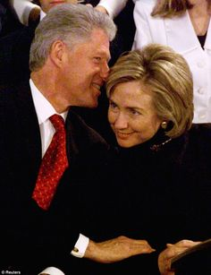 Meanwhile, Bill Clinton was still married to Hillary throughout his years-long affair with Lewinsky