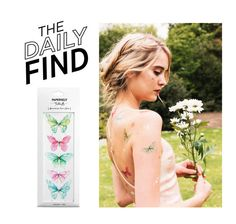 """""""Daily Find: Paperself Tattoo"""" by polyvore-editorial ❤ liked on Polyvore featuring beauty, DailyFind and beautyfind"""