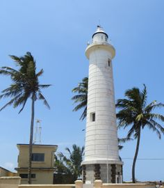 Galle lighthouse Seattle Skyline, Cn Tower, Cool Places To Visit, Sri Lanka, Lighthouse, Exploring, The Good Place, Building, Travel