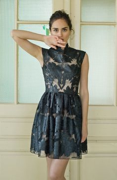 Mini little black lace dress by NelliUzun on Etsy, $280.00