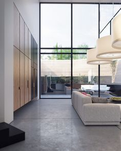 These four luxury homes all employ an important unifying factor: intimate communication with the immaculately sculpted courtyards that surround them. Each one o