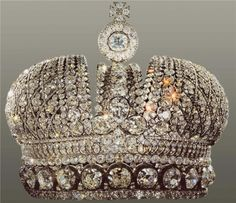 This is the minor Imperial crown of Russia. I don't know how I missed this one.