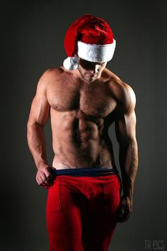 It is never too early for a sexy Santa...
