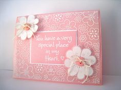 """""""You have a very special place...""""  (Site: general info + supply list"""""""