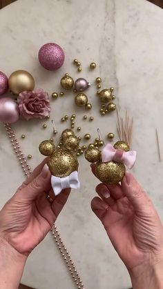 Xmas Ornaments, Christmas Decorations, Christmas Crafts, Disney Ornaments, Christmas Tree, Diy Crafts For Home Decor, Holiday Crafts, Well Dressed, Dollar Store Crafts