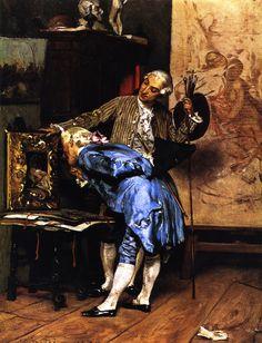 The Connoisseur, 1870 by Giovanni Boldini (Italian, 1842-1931)