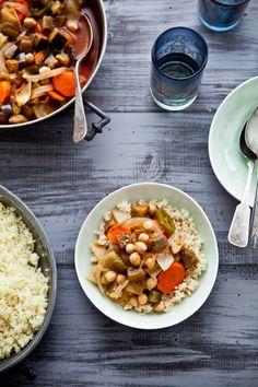 Vegetable Couscous - wonderful!!!