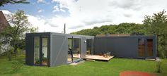 Containerlove in Kall, Eifel, Germany   LHVH Architekten