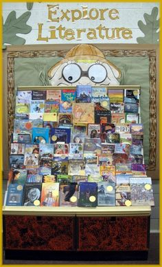 great library display