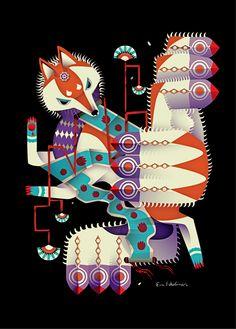 Familiars by Eva Eskelinen, via Behance