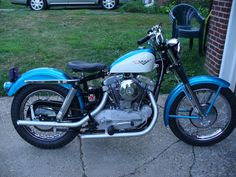 1959 XLCH Sportster build by Oley?
