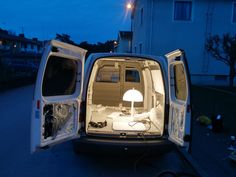 How To Build A Camper Van / Mobile Home In 20 Days !