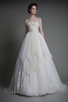 tony ward wedding dress spring 2013: Aura Magique