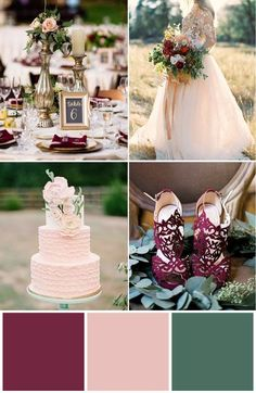 12 Wedding Colours to Inspire - My dream wedding - Hochzeitsblumen Vintage Wedding Colors, Winter Wedding Colors, Summer Wedding Cakes, Camp Wedding, Diy Wedding, Dream Wedding, Wedding Ideas, Wedding Ceremony, Wedding Venues