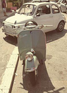 Vespa & Fiat 500