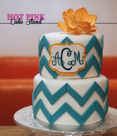I Want This Cake For My Th Birthday Anchorobsessed Holidays - Monogram birthday cakes