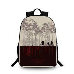 82b1de8a6acf Stranger Things Backpack Schoolbag For Kids Back to School Bags Shoulder  Daypack