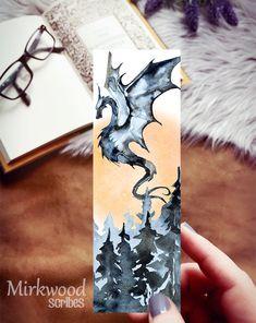 Watercolor Books, Watercolor Bookmarks, Watercolor Paintings, Watercolours, Creative Bookmarks, Diy Bookmarks, Bookmark Ideas, Corner Bookmarks, Gifts For Readers