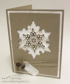 Christmas Cards-Stampin Up! on Pinterest