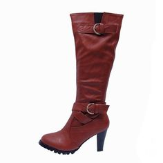 Coach Juletta Red Boots CSE Give You The Best feeling!