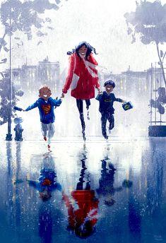 Wet, wet wet, wet.... #pascalcampionart