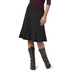 Chilena skirt on sale for $38.40  The Chilena is the ideal skirt for travel, work and play, thanks to its everyday, eco-friendly knit and easy wearing, easy pairing silhouette. In a supple, stretchy blend of Tencel®, organic cotton and spandex, it has a smooth, wide waistband, slimming eight-panel construction and contrast zigzag stitch detailing just for fun.