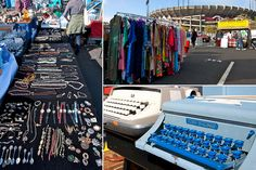 Candlestick Park Antiques & Collectibles Faire  When: Every third Sunday of the month.