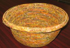 Barb Strosahl's Rope Bowl from Talei's class.