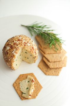 vegan christmas soft cheese - tofu, almonds, pine nuts and herbs // by Virpi Mikkonen Vegan Life, Raw Vegan, Vegan Vegetarian, Vegetarian Recipes, Vegan Food, Vegan Cheese Recipes, Raw Food Recipes, Veggie Recipes, Vegan Appetizers