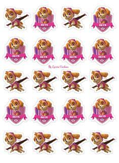 Paw Patrol Party Invitations, Paw Patrol Birthday Cake, Barbie Party, Ideas Para Fiestas, Cartoon Dog, Third Birthday, Birthdays, Birthday Parties, Stickers
