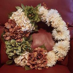 Fall floral wreath @ja.decorandmore