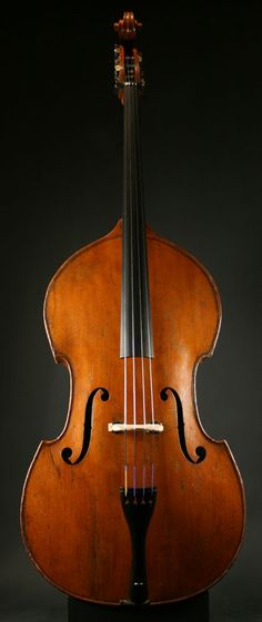 Double Bass by Jacquet-Gand c.1860