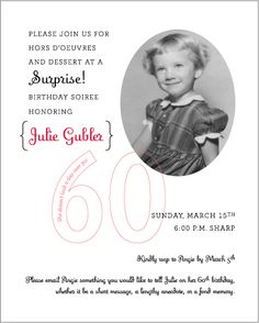- Blonde Designs Blog - juju's 60th birthday surprise