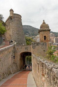 Fort Antoine remparts, Monaco.