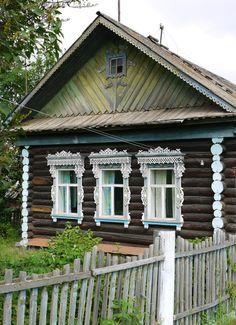 Russian Log Cabin