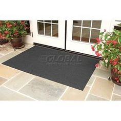 Brush Hog Plus Outdoor Entrance Mat 45x69 Charcoal by THE ANDERSEN COMPANY. $169.95. BRUSH HOG PLUS OUTDOOR ENTRANCE MATS Brush Hog Plus entrance mats won't fade in the sunlight, making them ideal for outdoor applications. Entrance mats are made using high performance solution dyed nylon facing with turf-pile fabric that filters dirt and moisture away from the surface. Bi-level reinforced surface offers improved filtration performance. Premium rubber backing will not crack ...