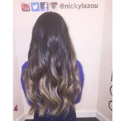Nicky Lazou balayage hair