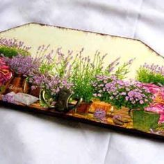 Cuier pentru mai multe haine, cuier lemn natur cu flori de lavanda Mai, Home Decor, Green, Decoration Home, Room Decor, Interior Decorating