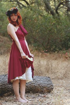 Red Tide Cranberry Octopus Convertible Wrap by CoralieBeatrix, $79.99