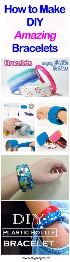 How to Make Amazing Bracelets Recycling Plastic Bottles by Cafe largo de ideas
