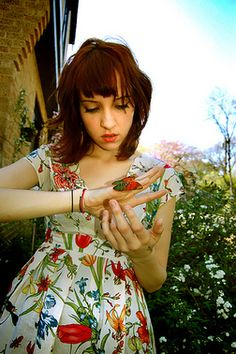 sherri dupree...cutie patootie and married to my love, max bemis (and love that dress)
