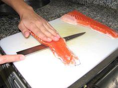 Sushi a La Carte :: Salmao Skin (receita)