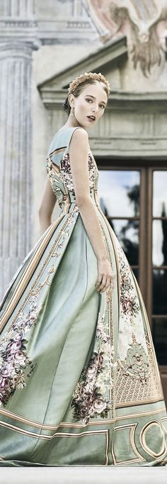 A harmony of pastels. Beautiful Gowns, Beautiful Outfits, Simply Beautiful, Pretty Outfits, Pretty Dresses, Dream Dress, Couture Fashion, Dress To Impress, Love Fashion