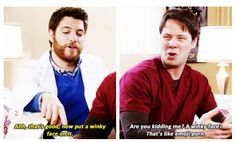 Dr. Peter Prentice and Morgan Tookers -- The Mindy Project