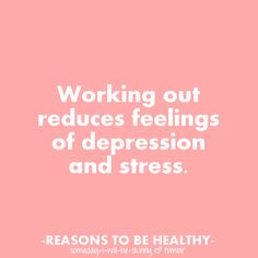 Working out - so true!